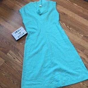 Vintage Leslie Fay Shift Dress with Pockets